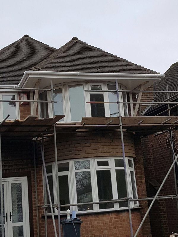 UPVC Fascia Board, Soffits, Gutter and Downpipe replacement in Sutton Coldfield
